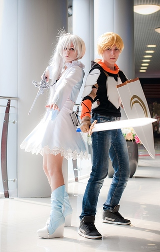 Weiss%20and%20Jaune%20Cosplay