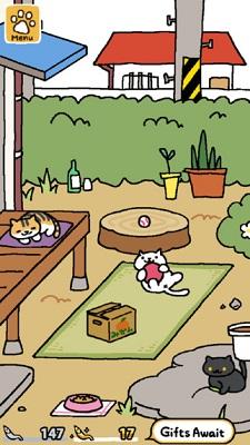 Neko_atsume_screenshot